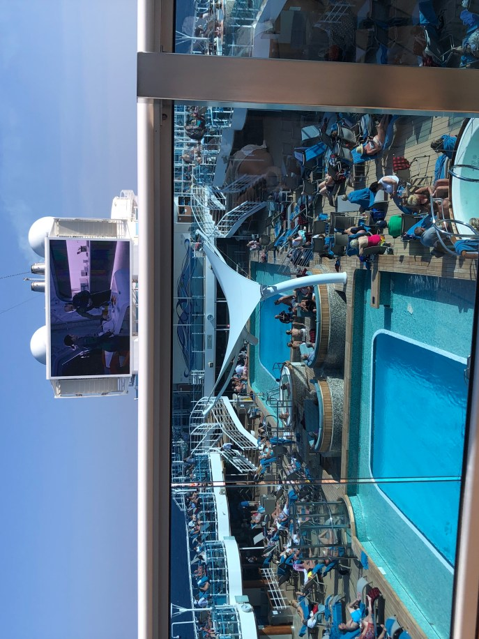 View from the Sky Suite balcony