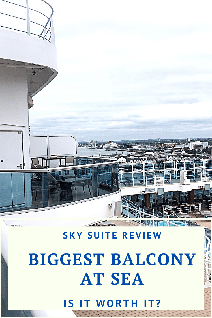 A detailed review of a Princess Cruises Sky Suite, including a photo and video tour, key features and exclusive perks only available to Sky Suite guests.