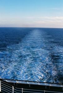My First Cruise - Ship's Wake - Dawn Princess