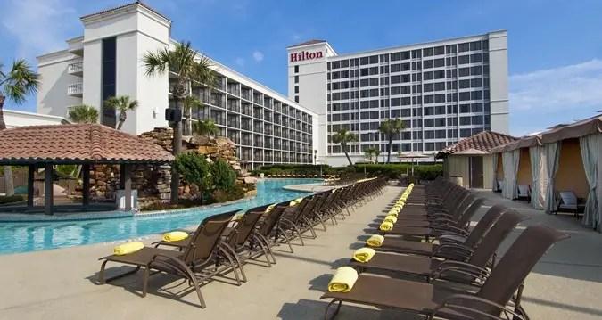 Hilton Galveston Island Resort Cruise Parking