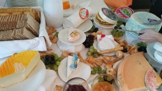 Cheese Options in the Main Dining Room