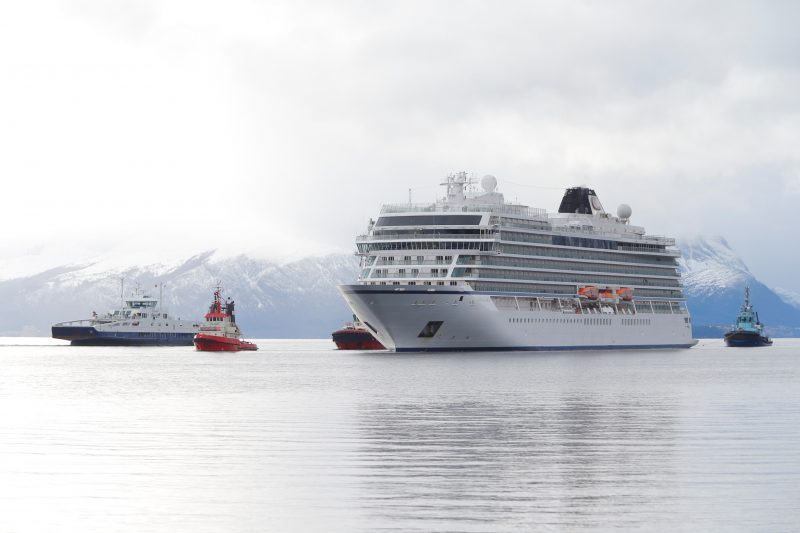 """""""On behalf of the entire Viking family of guests and crew, we are delighted to be back in Iceland, and we thank the government for their support as we continue to restart operations,"""" said Torstein Hagen, President of Viking."""