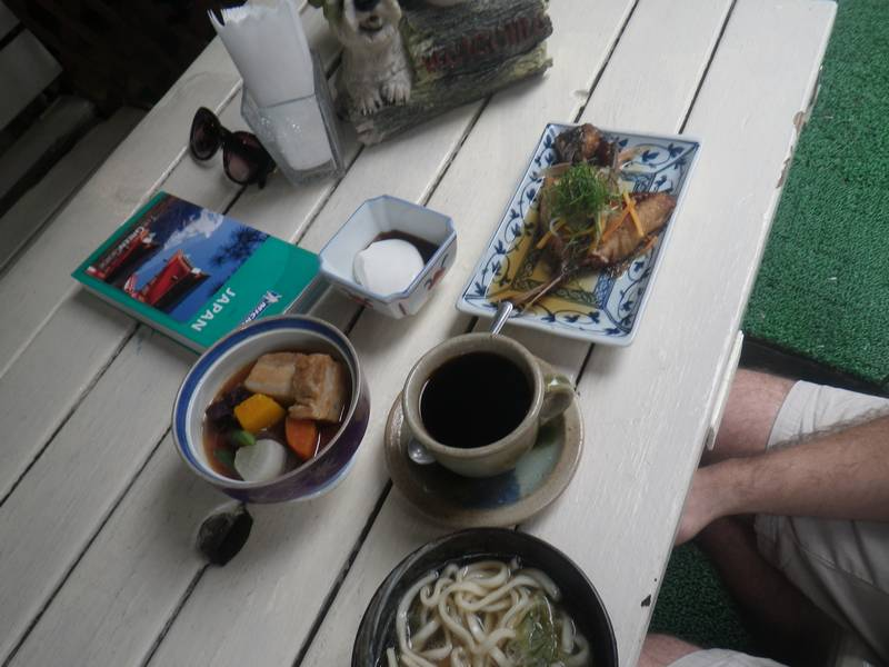 Okinawan Fatty Pork Soup, Noodle Broth, Sun fish and Fermenter Tofu