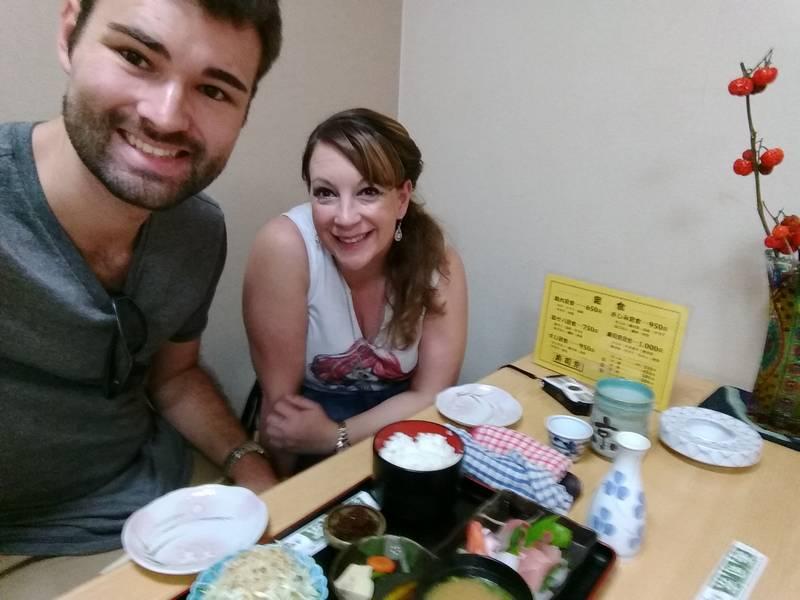 Eating Sushi in Sushi Capital