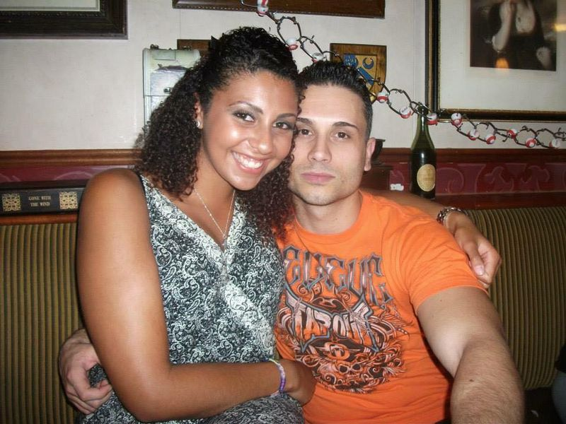 Ieashia and Zoran in the Officer's Bar
