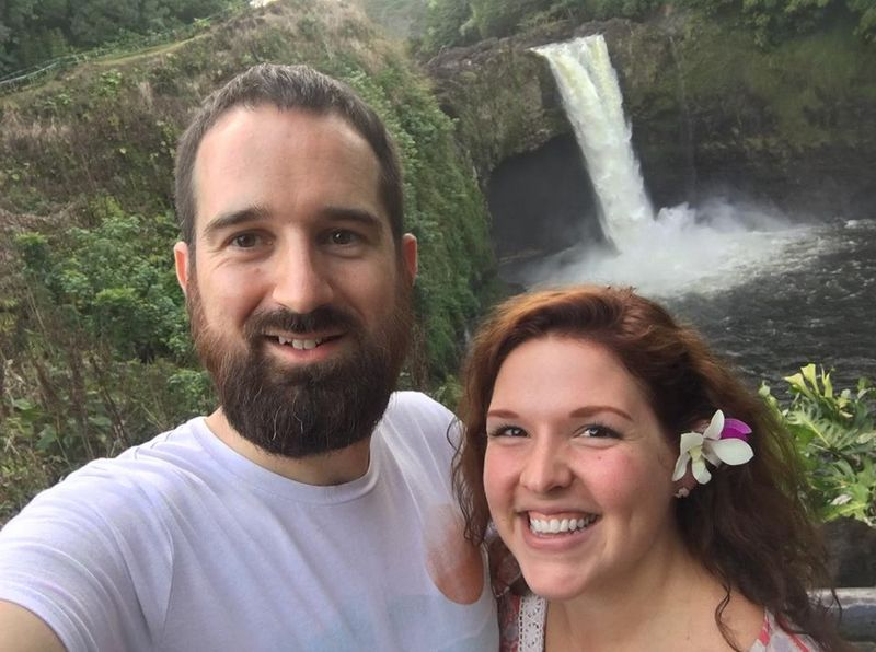 Melodye and Tom in Hawaii