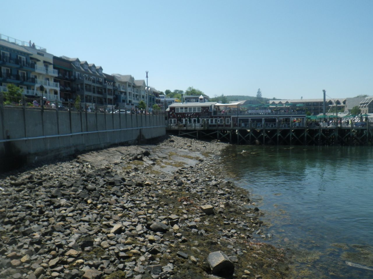 Pier from the tender stop