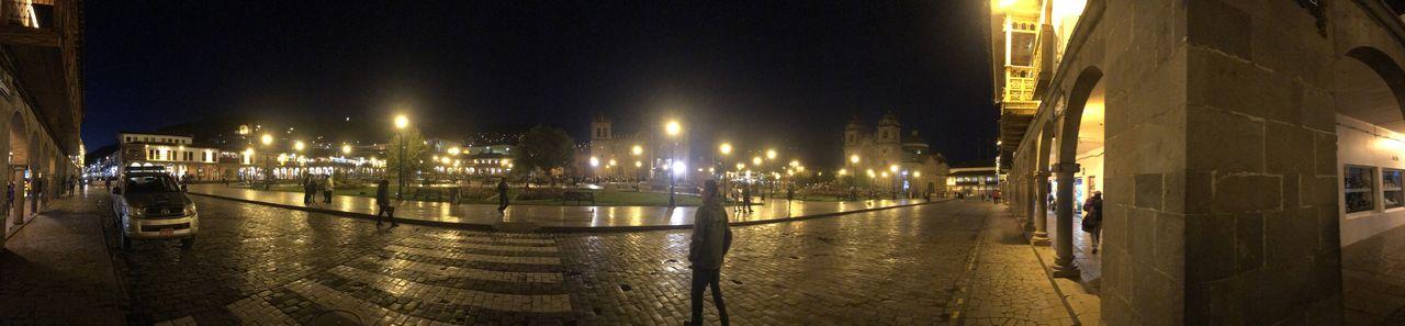Panorama of Cusco Plaza des Armas