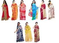 Custom designed indian saree