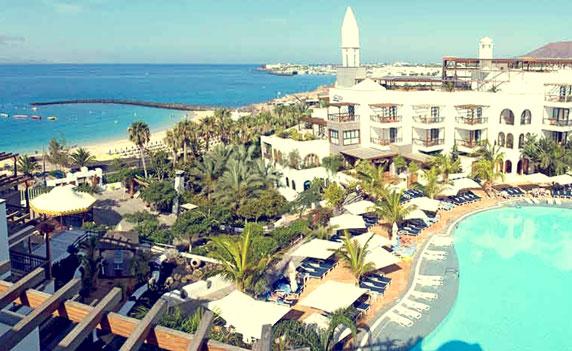 princesa yaiza hotel beach