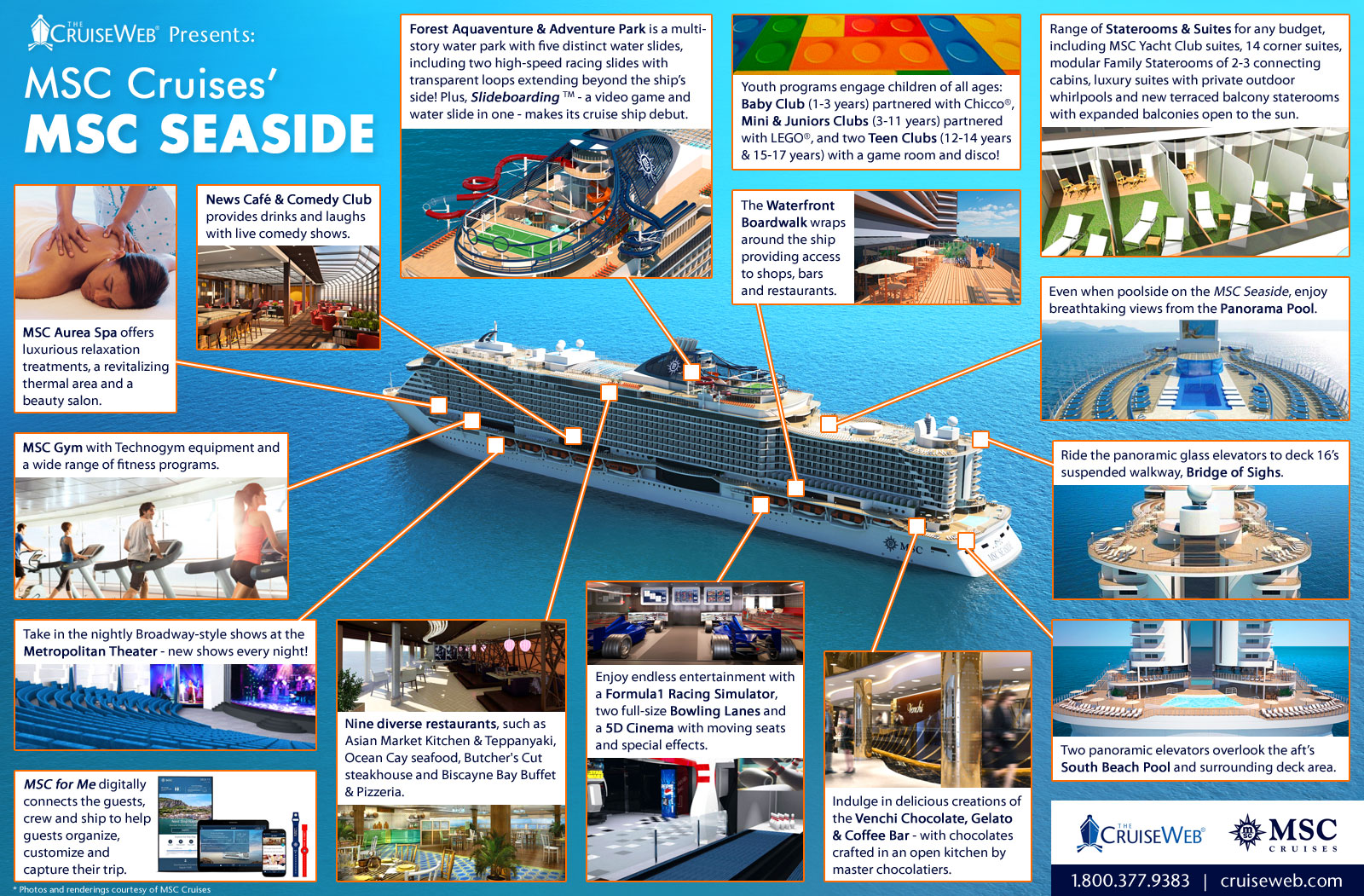 MSC Seaside Cruise Ship 2019 And 2020 MSC Seaside