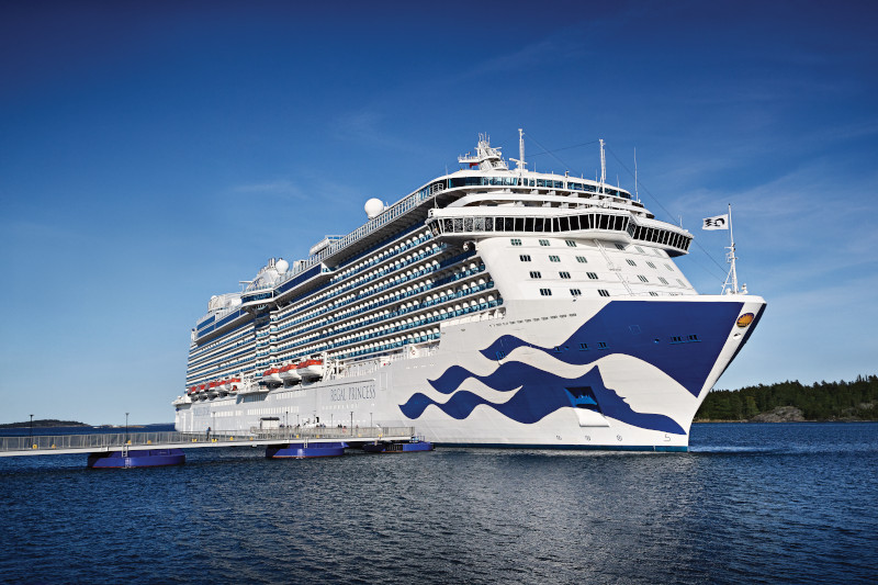 Regal Princess Summer UK seacation cruises