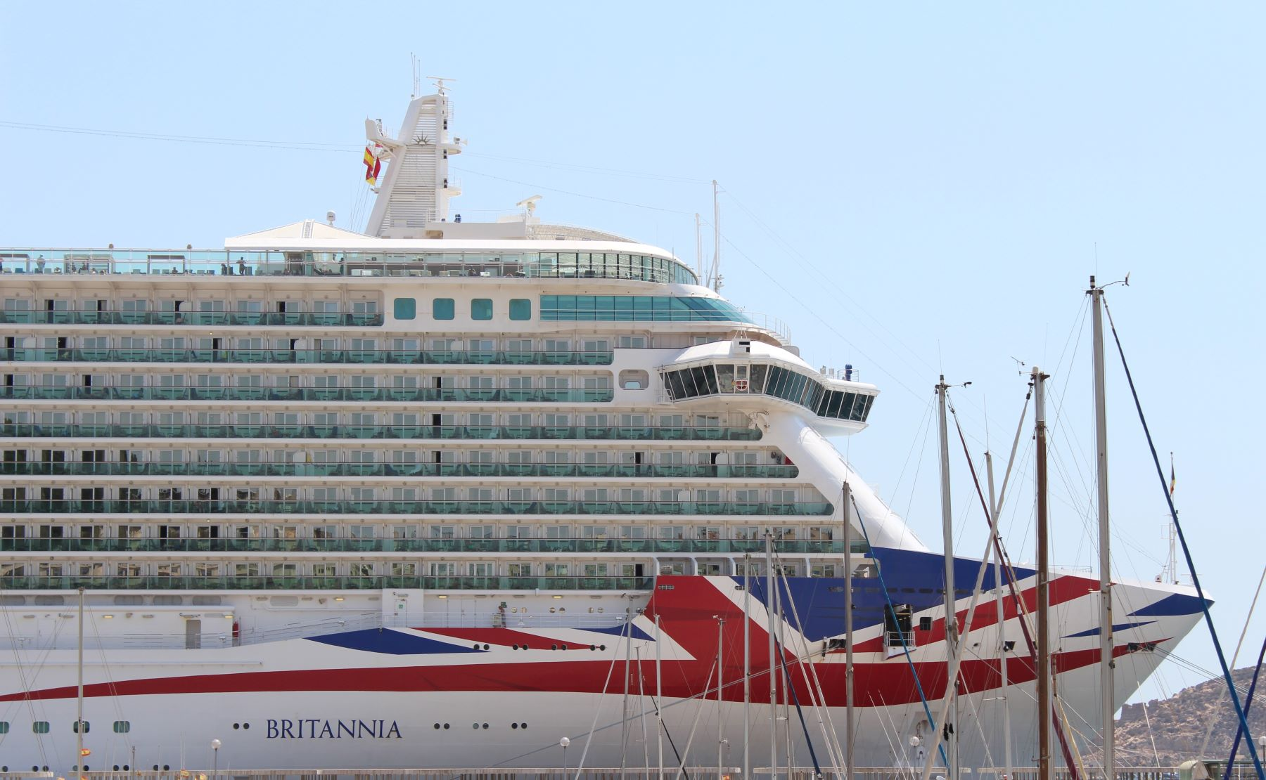 P&O Britannia in Cartagena