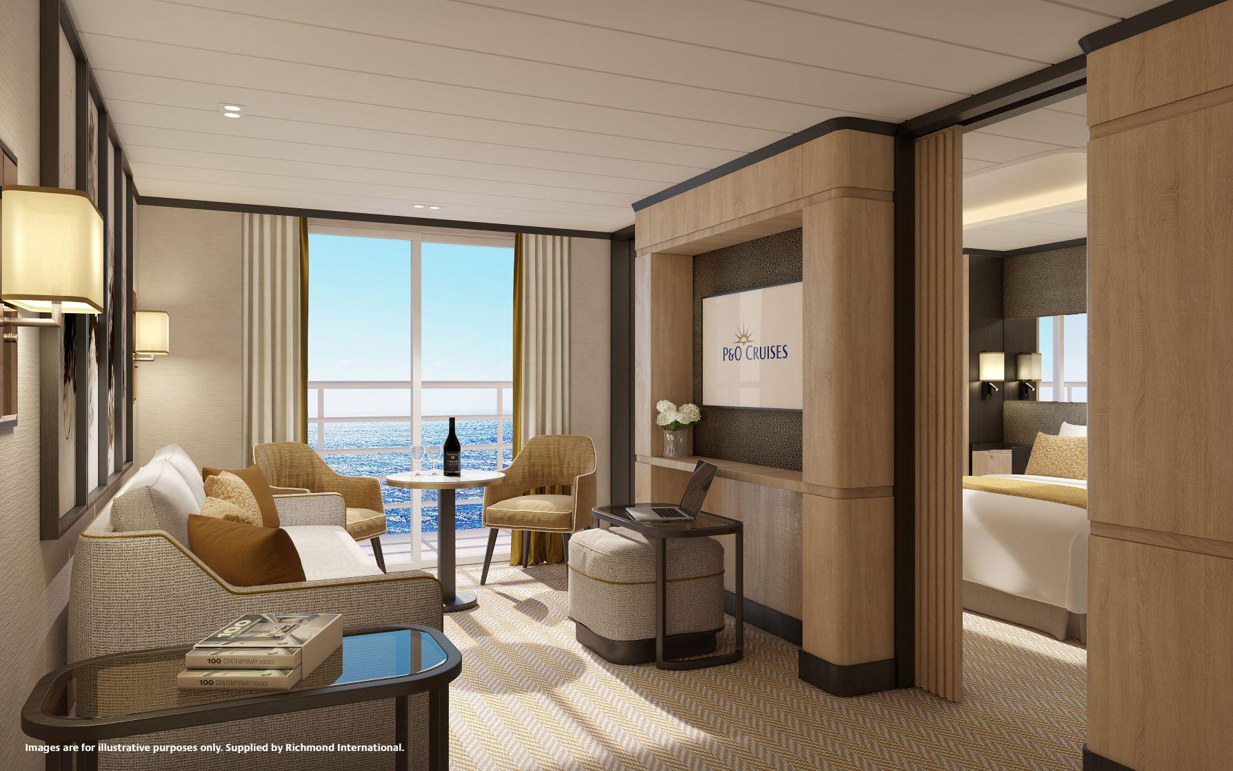Iona Aft Suite Lounge