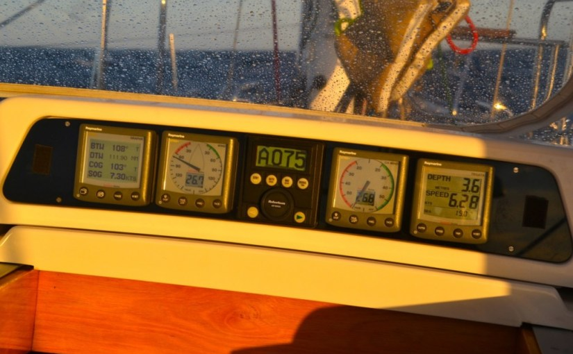 Rudder and steering, autopilot and windvane