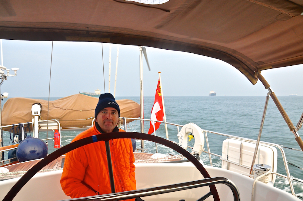 Elbe Anchorage | Cruising Attitude Sailing Blog - Discovery 55