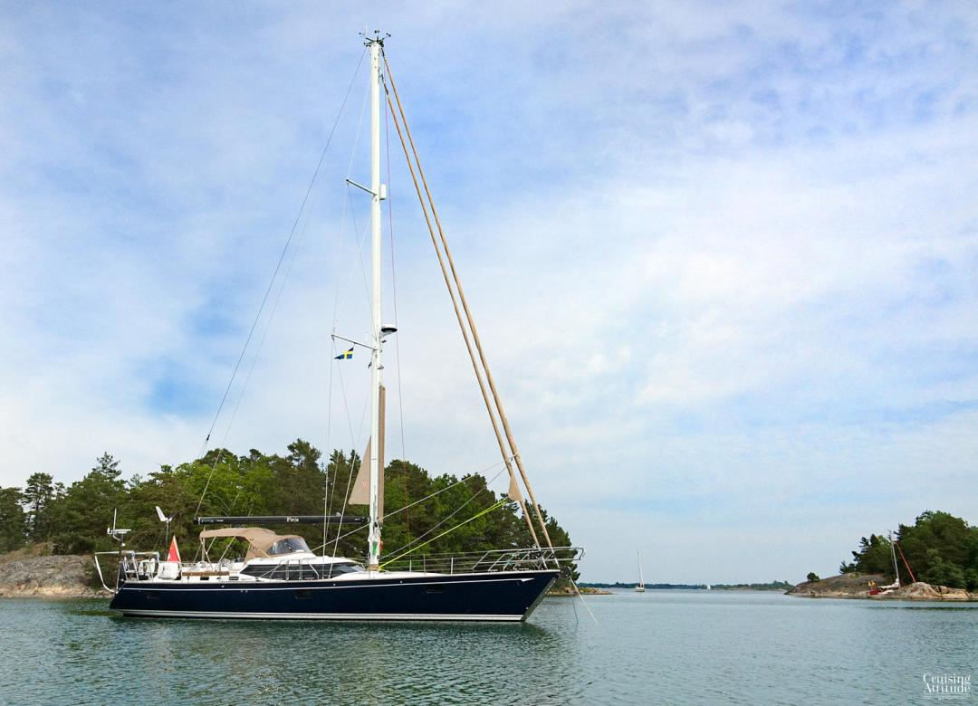 Risö anchorage | Cruising Attitude Sailing Blog - Discovery 55