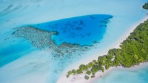 Island View from the sky