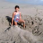 The sand sculptress