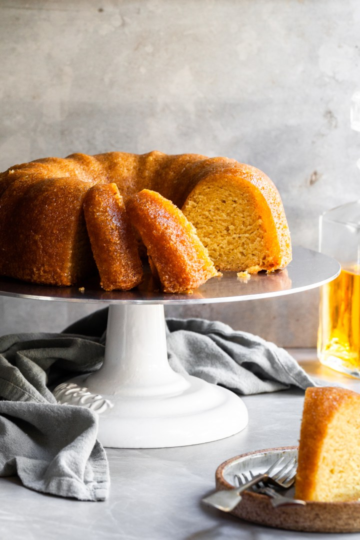 Vegan Rum Cake – Just Like the 1970's Classic!