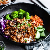Korean Lentils - Vegan Bulgogi (GF Option)