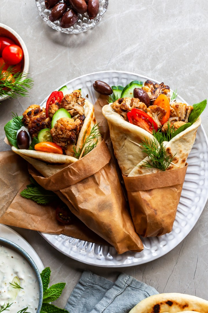 Vegan Cauliflower Gyros