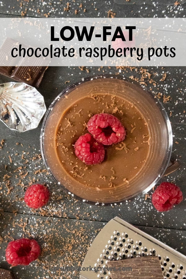 Decadent and indulgent, guilt-free raspberry chocolate pots will satisfy any sweet tooth from twitching without thinking about hitting the gym!