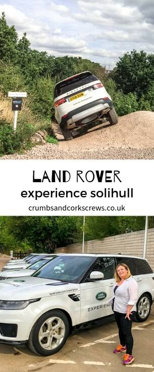 Putting the Range Rover through its paces on the historical Jungle Trial at the Land Rover Experience, Solihull - it's more than the school run deserves!