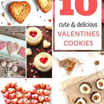 These cute and delicious Valentines cookies make the perfect gift, baked with love for your special someone, or maybe just for yourself. Check out my top 10 favourites