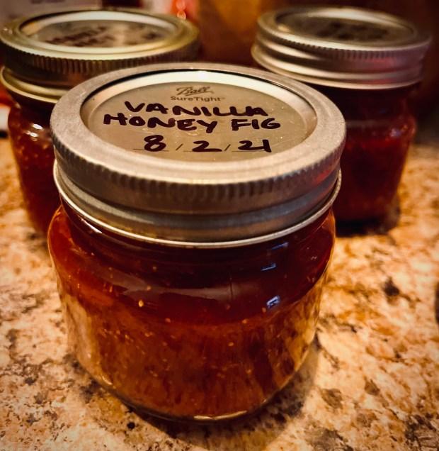 vanilla honey fig jam