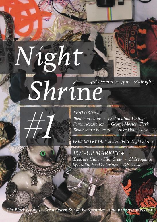 Night Shrine_The Black Penny_3 December 2015