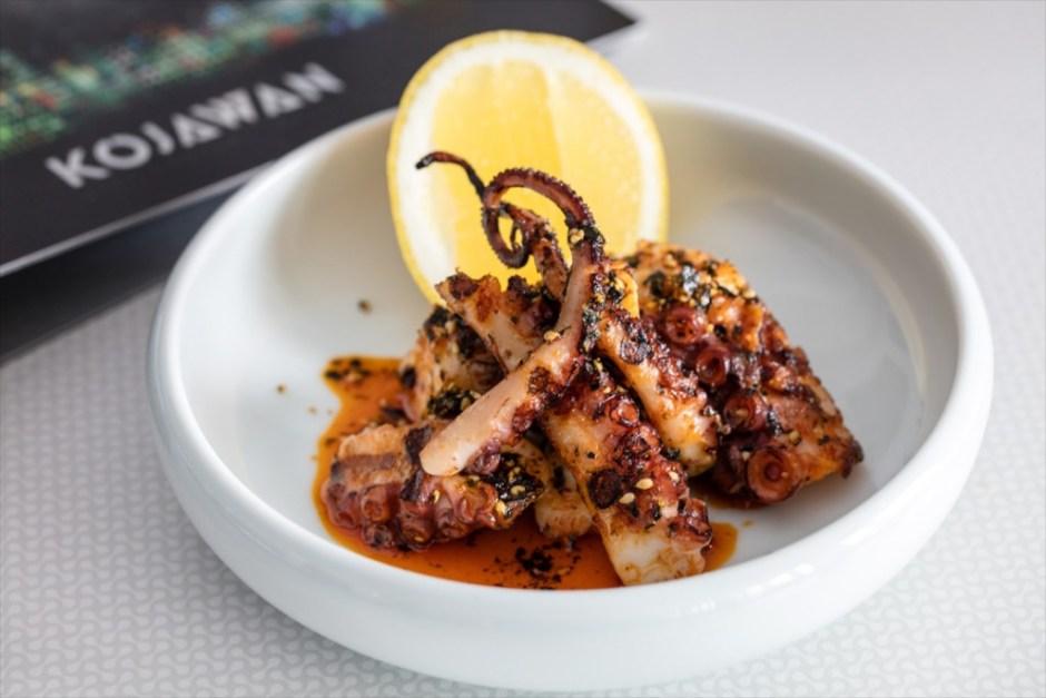 Wood Fried Octopus, lemon and smoked paprika EDIT