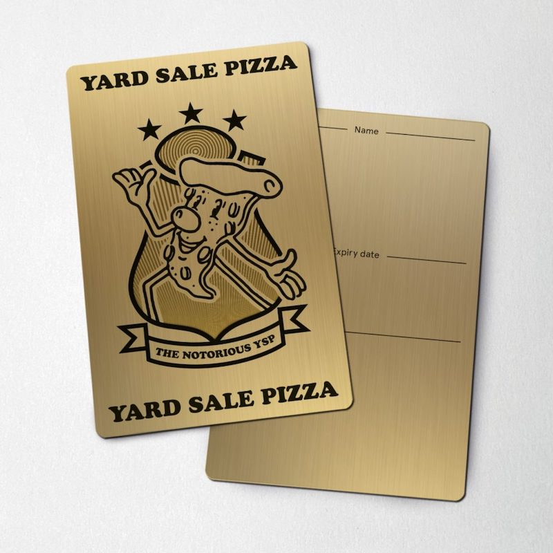 Yard Sale Pizza Notorious YSP card