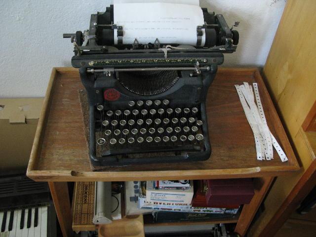 Underwood Typewriter 1938
