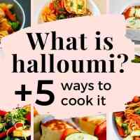 What is halloumi + 5 ways to cook it