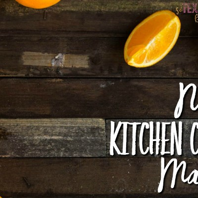 Natural Kitchen Cleaner Makeover with Essential Oils
