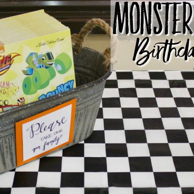 Monster Trucks Birthday Party Ideas and Inspiration