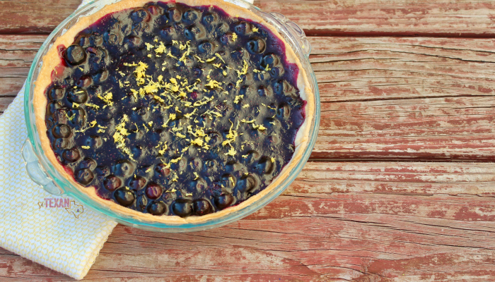 Dairy-Free Lemon Blueberry Pie Recipe
