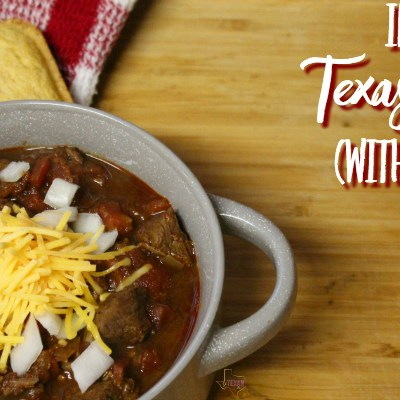 Instant Pot Texas Chili without Beans– The Way It Should Be!