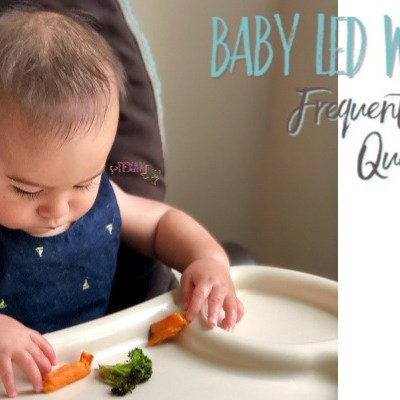 Baby Led Weaning has been one of the greatest blessings for our family, but it has so many misconceptions attached to it. For all the frequently asked questions and how to's of Baby Led Weaning, check out this post! #BabyLedWeaning #BLW #crunchymom #parenting