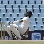 Ishant Sharma falls on ground - AP