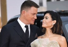 Channing Tatum and his wife Jenna Dewan Tatum
