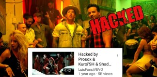 Despacito YouTube Hacked
