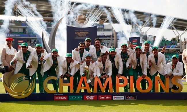 Pakistan, winner of Champion's trophy 2017