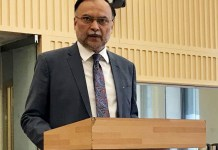 Ahsan Iqbal injured in firing