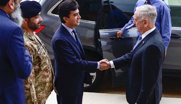 Ali Jahangir Siddiqui meets US Defence Secretary