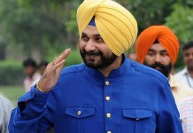 Navjot Singh Sidhu Arrives at Wagha Border