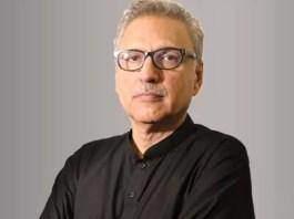 President of Pakistan Dr Arif Alvi
