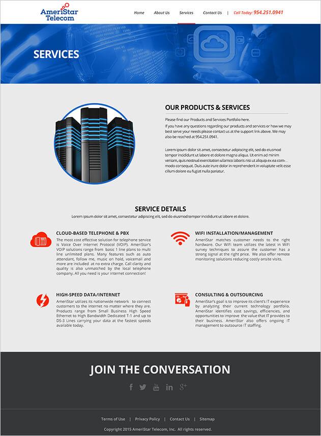 Ameristar Telecom - Services
