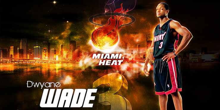 Dwyane Wade – Wallpaper